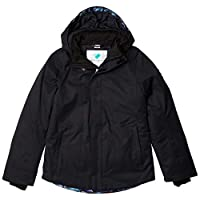 Obermeyer Girls Haana Jacket, Black, Medium