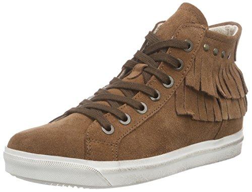 Marco Tozzi Premio - 25218, Sneaker alte Donna Marrone (Marrone (Muscat Antic 340))