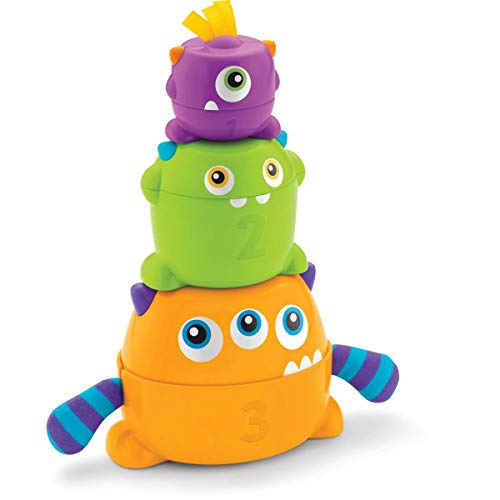 Fisher-Price - Monstruitos encajables, juguete bebé