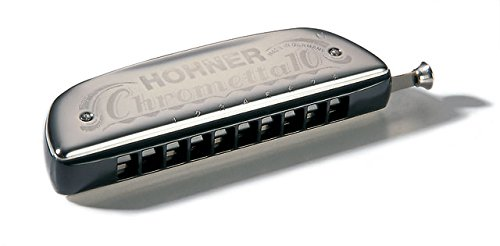 Hohner M25301 Chrometta 10 /Key C Harmonica  available at amazon for Rs.9369