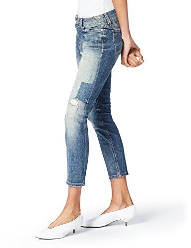find. 50183 jeans, Blau (Natural X Wash), W30/L32 (Herstellergröße: Medium) - Distressed Loafer