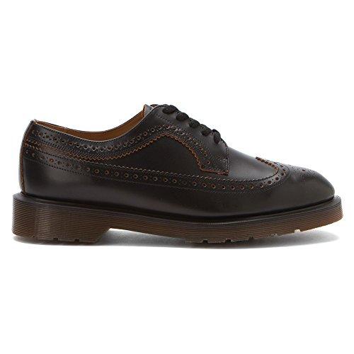 DR MARTENS 3989 VINTAGE SMOOTH scarpe pelle NERO