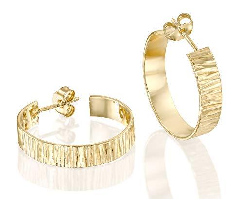 Punk Generous Gold/Silver Big Circle Hoop Earrings Cucine e accessori da campeggio SaySure