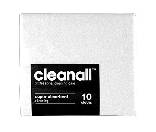 cleanall jcc10W janitors panno, Super assorbente, colore: bianco (Confezione da 24)