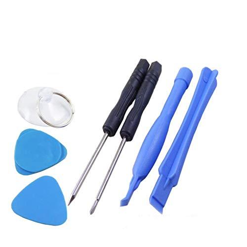 Gankmachine 7pcs / Set Anzug Handy Disassemble Wartung Werkzeuge Phillips-Schraubendreher Plum Schraubendreher Stemmeisen Plum Handy