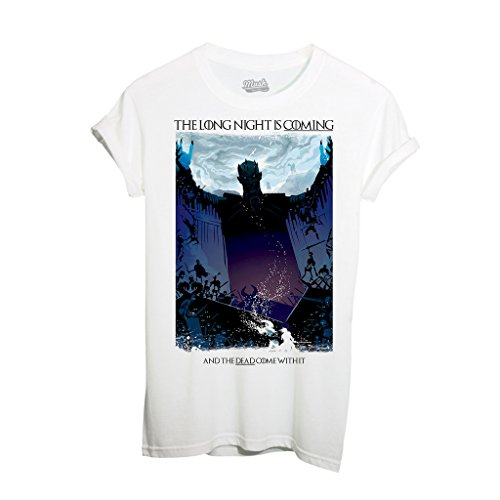 T-Shirt THE LONG NIGHT IS COMING - FILM by Mush Dress Your Style Bianca