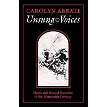 Unsung Voices by Carolyn Abbate (1996-04-01)