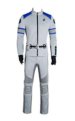 Star Trek Beyond Cosplay Kostüm Spock Kirk Yorktown Anzug Outfit Service Uniform Herren (Star Halloween Trek)
