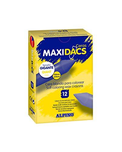 12 ceras Alpino MaxiDacs por sólo 4,60€ ¡¡42% de descuento!!