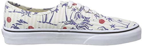 Vans Authentic Scarpe Da Ginnastica Basse Unisex Adulto Multicolore hula Stripes true White