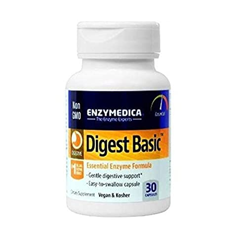 Enzymedica Digest Basic Dietary Supplement Capsules, 30-Count