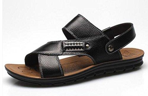 Men's Zapatillas Hombre Genuine Leather Sandals 2