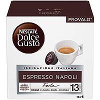 NESCAFÉ Dolce Gusto Espresso Napoli, Caffè Espresso, 6 Confezioni da 16 Capsule (96 Capsule)