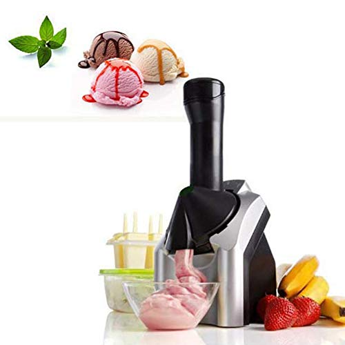 Dire-wolves home ice cream maker produce deliziosi soft ice cream gelato sorbetto e frozen yogurt machine con miscelatore removibile fruit maker