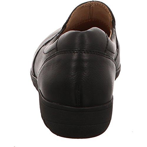 Caprice 9-9-24650-29/022, Mocassins pour femme Black Nappa
