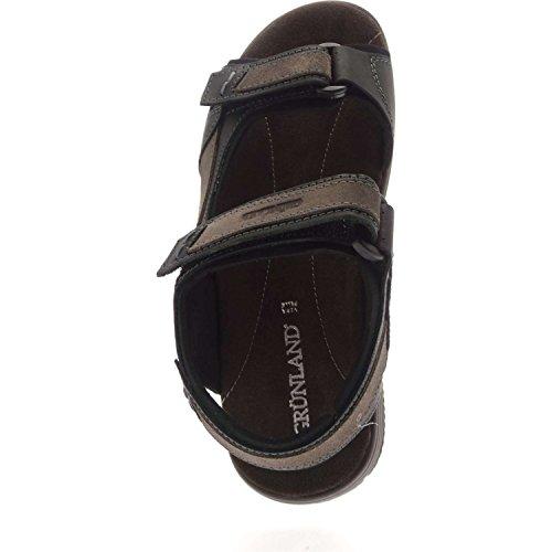 Grunland LEON SA0462 Sandal Homme Black