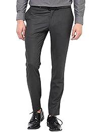 Jack & Jones Men's Straight Fit Formal Trousers