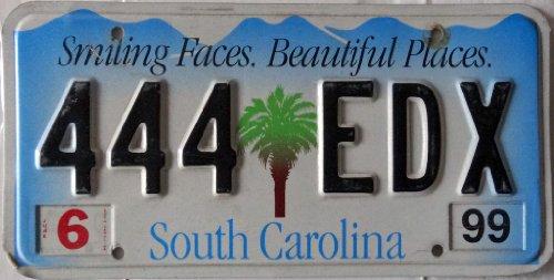 US Nummernschild SOUTH CAROLINA Kennzeichen # USA Autoschild # Blechschild