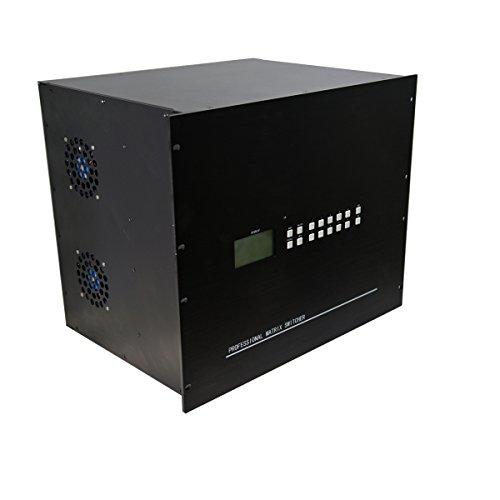 HDMI Matriz de conmutación de altas prestaciones 20ins 28Outs Sopport HDMI 1.4HDCP y DVI 1.0protocolo apoyo para 12bit profundidad de color y todos resoluions de HDTV incluyendo y PC resolución hasta 1920* 1080P