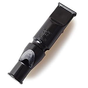 Acme Whistles Double No. 640, sifflet pour chien, noir
