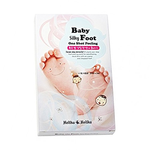 HOLIKA HOLIKA Gommage Pieds de Bébé Baby Silky Foot One Shot Peeling Foot Mask (20ml x2)