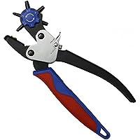 Profesional de agujero de sacabocados 2-4, 5 millimeter cinturón de piel con el objetivo de alicates