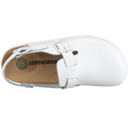 Dr. Brinkmann 603011, Chaussures mixte adulte Blanc - Blanc