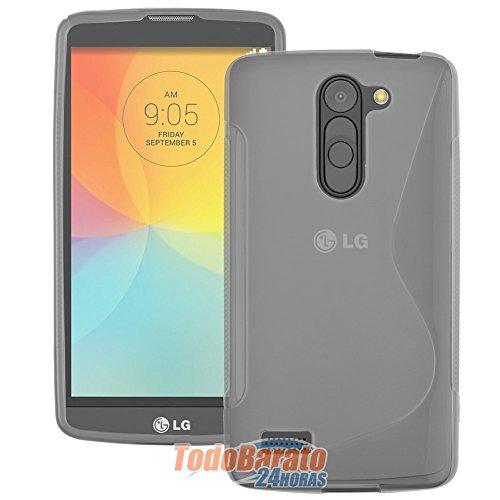 Todobarato24h Funda Sline S-Line Transparente LG L Bello D331 D335 Dual