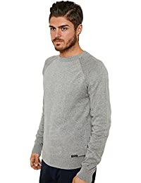 Threadbare - Pull - Pull - Homme gris gris Small