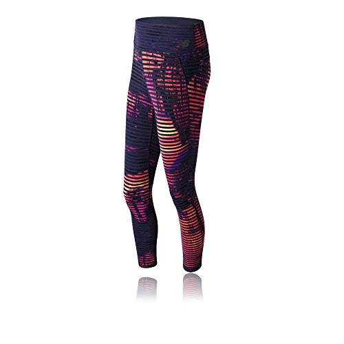 412CnNizQhL. SS500  - New Balance Women's Printed High Rise Transform Crop Leggings