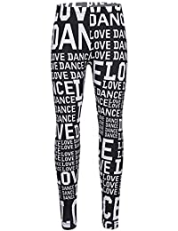 IEFIEL Enfant Fille Pantalons Collants Impression Mode Legging Pantalons de  Danse Gym Casual Long Confort Souple d274185bdee9