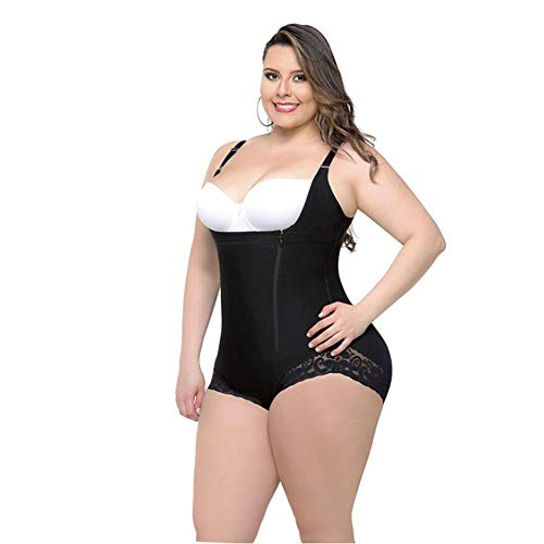 AQWWHY Frauen Bodysuit Firm Control Offene Büste Shapewear Body Shaper Taille Trimmer Bodysuit -