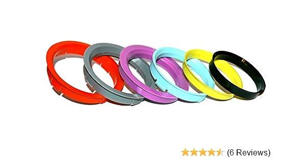 73.1-57.1 Alloy Wheel Spigot Rings Set Of 4