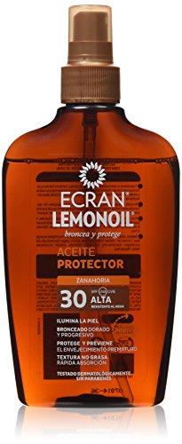 Ecran Lemonoil - Aceite protector - Zanahoria SPF30-200 ml