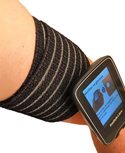 Preisvergleich Produktbild 80 cm langes Schutzband zur freien Befestigung des Freestyle-Sensors. Für Schwimmbad,  Bad und Dusche