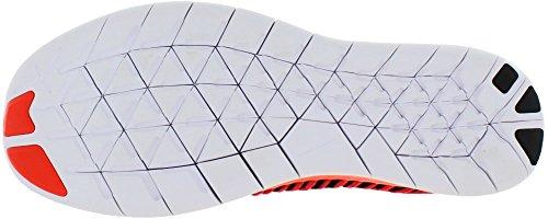 Nike Herren Free Rn Flyknit Laufschuhe Naranja (brillante Rosso / Bianco-nero)