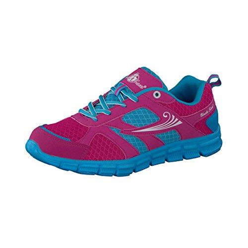 Tio Sam Mulheres Correndo Facilmente Sapatos Em Rosa / Pink Blue / Multi
