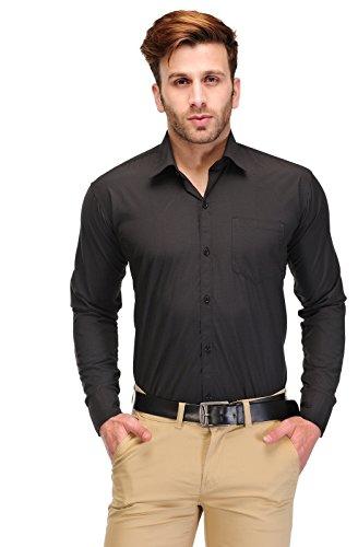 Koolpals Men's Cotton Shirts(KPC06_FD_B & PNK42, Multicolour, 42)