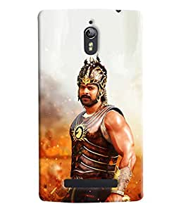 Omnam Bahubali Printed Designer Back Cover Case For Oppo Find 7