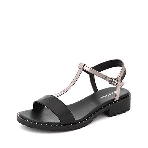 Bande T,Sandales De Vent Romaines De Rhinestone,Loisirs College Wind Et Womens Shoes B