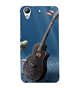 Vizagbeats Viloin In Sea Back Case Cover for HTC Desire 728g Dual::HTC Desire 728G::HTC Desire 728