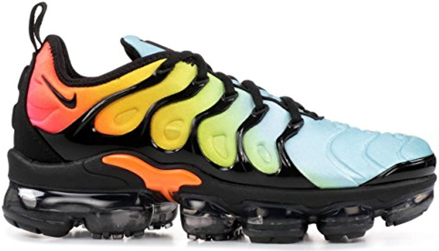 MAXTOP Air Vapormax Plus TN AO4550 002 Black Beached Aqua Herren Damen Gymnastikschuhe