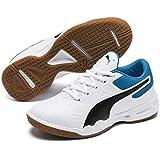 Puma Unisex-Baby Tenaz Jr Badminton Shoes