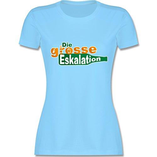 Festival - Die große Eskalation - tailliertes Premium T-Shirt mit  Rundhalsausschnitt für Damen Hellblau