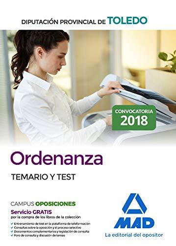 Ordenanza de la Diputación Provincial de Toledo. Temario y test por 7 Editores