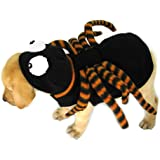 Dogs & Co Halloween Dog Costume, 22-inch, Spider