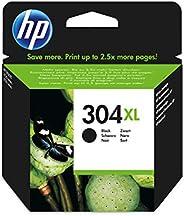 HP 304XL Black Original 8.5ml 300páginas Negro Cartucho de Tinta - Cartucho de Tinta para impresoras (HP, N9K0