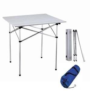 Campingtisch tisch 70 x 70 cm sport freizeit for Amazon tisch