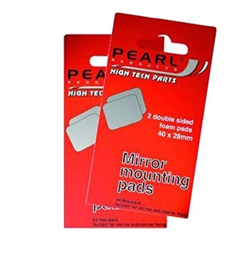 28mm Perle (Perlen-Spiegelbefestigungsklebeplättchen 2 Doppelseitige Formular Pads 40x28mm)
