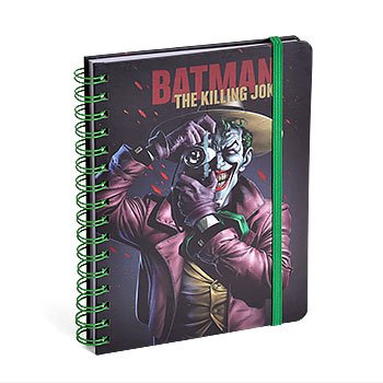 Carnet de notes Batman Killing Joker A5 reliure spirale ligné